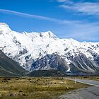 A vista to Mount Cook National Park  by 29Breizh33