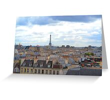 Paris from the Pompidou Centre Greeting Card