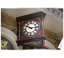 Charing Cross Railway Station Clock London Poster