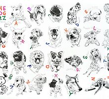 The dogs A-Z no.2 by jatujeep
