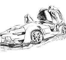 citroen sketch by jatujeep
