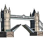 Tower Bridge by BillyTWilliams