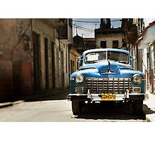car in havana Photographic Print