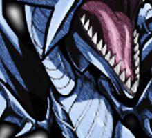 Blue-Eyes White Dragon Icon - Yugioh! Sticker