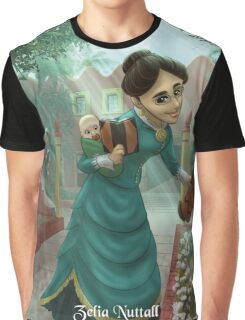 Zelia Nuttall - Rejected Princesses Graphic T-Shirt