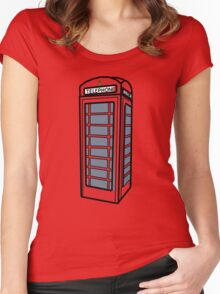 Phone Box Women's Fitted Scoop T-Shirt