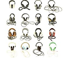 classic retro headphone collection by dubassy