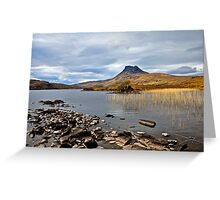 Stack Polly, Sutherland National Park, Scotland. Greeting Card