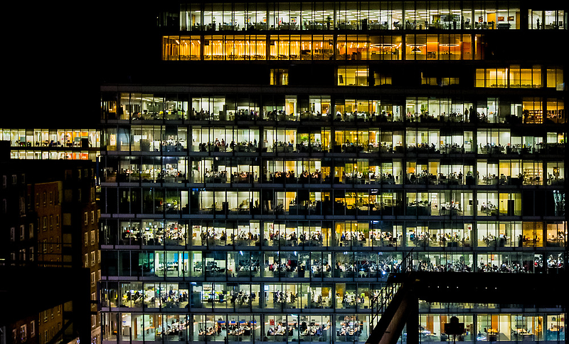Where's Wally offices by Heather Buckley