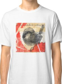 Asian Red Feathers Classic T-Shirt