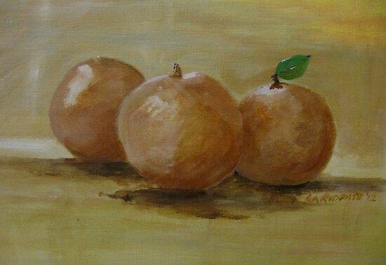 Russetts by Linda Ridpath