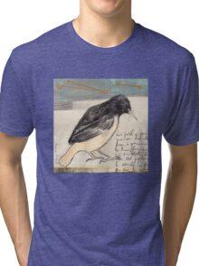 Black Bird Singing Tri-blend T-Shirt