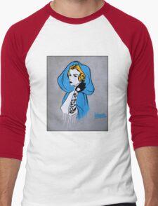 Princess Leia Graffiti Men's Baseball ¾ T-Shirt