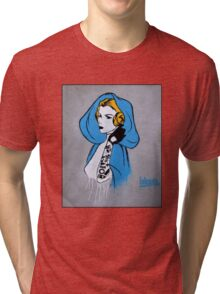 Princess Leia Graffiti Tri-blend T-Shirt