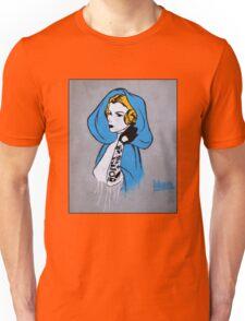 Princess Leia Graffiti Unisex T-Shirt
