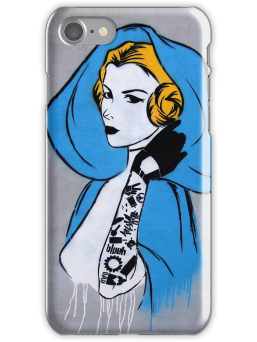 Princess Leia Graffiti by blouh