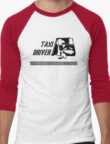 Taxi Driver (black) Men's Baseball ¾ T-Shirt