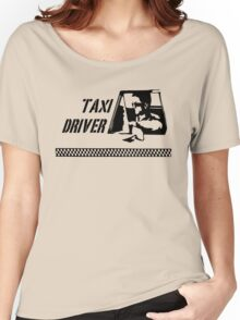 Taxi Driver (black) Women's Relaxed Fit T-Shirt