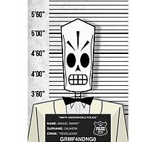 "Manuel ""Manny"" Calavera - Jailed Photographic Print"
