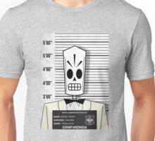 "Manuel ""Manny"" Calavera - Jailed Unisex T-Shirt"