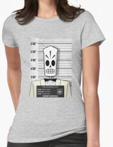 """Manuel """"Manny"""" Calavera - Jailed Womens Fitted T-Shirt"""