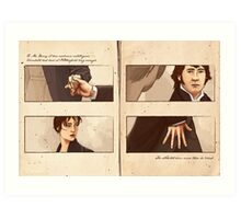 Pride and Prejudice - Hands Art Print