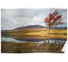 Loch Tulla, Scotland. Poster