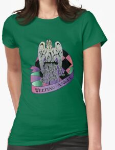Weeping Angel Womens Fitted T-Shirt