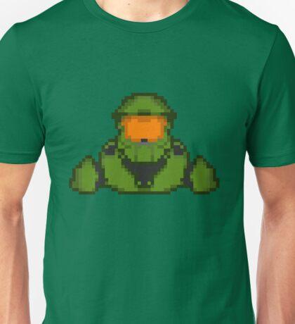 Master Chief Pixelated Unisex T-Shirt