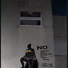 Batman stencil by blouh