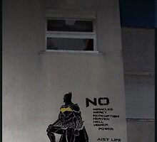 Batman stencil by blouh