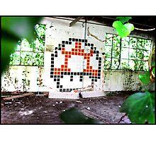 Mario Mushroom 16bit Photographic Print