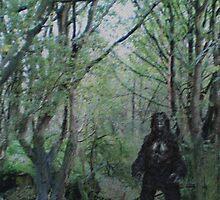 Bigfoot Sighting! by Extreme-Fantasy
