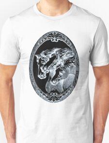 Black & White Horses T-Shirt