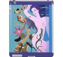 smell of a lady iPad Case/Skin