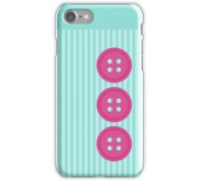 Cute Button iPhone Case/Skin