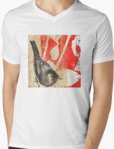 Waiting For The Red Mens V-Neck T-Shirt