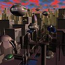 City Limits by Dreamscenery