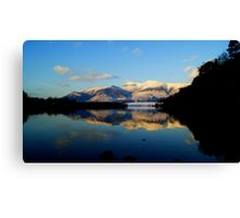 Derwent Water and Skiddaw, Lake District National Park Canvas Print