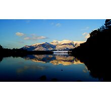 Derwent Water and Skiddaw, Lake District National Park Photographic Print