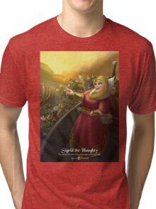 Sigrid the Haughty - Rejected Princesses Tri-blend T-Shirt