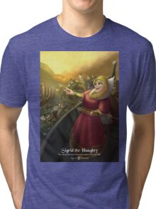 Sigrid the Haughty - Rejected Princesses Tri-blend T-Shirt