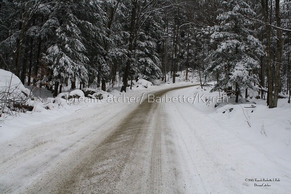 Snow road by DreamCatcher/ Kyrah