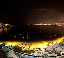 Acapulco bay Mexico by dubassy