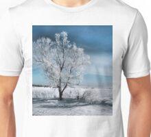 Frosty Tree Unisex T-Shirt