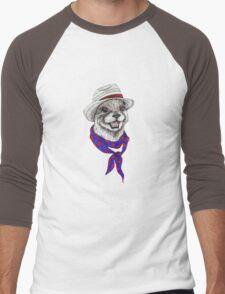 The Happy Otter Men's Baseball ¾ T-Shirt