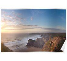 stunning england coast Poster