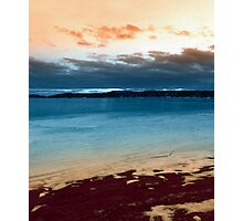 Sunset From thje Beach Photographic Print