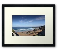 stunning england coast Framed Print
