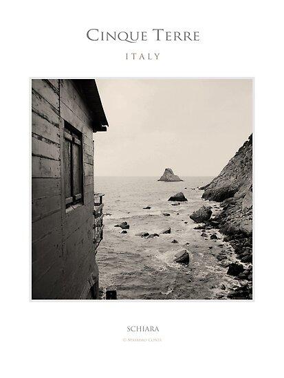 Schiara, Cinque Terre by MassimoConti